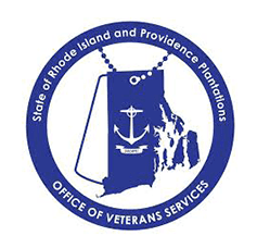 Rhode Island Office of Veterans Services Logo
